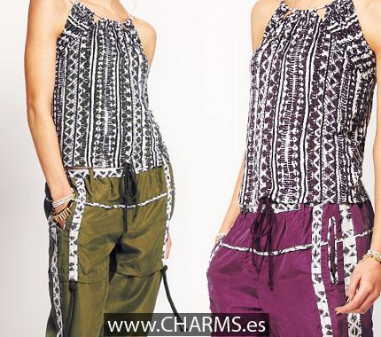 pantalone pijama moda