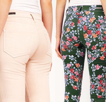 pantalones estampados mujer