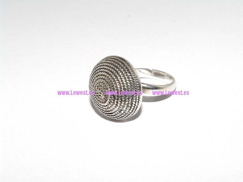 anillo de plata filigrana a