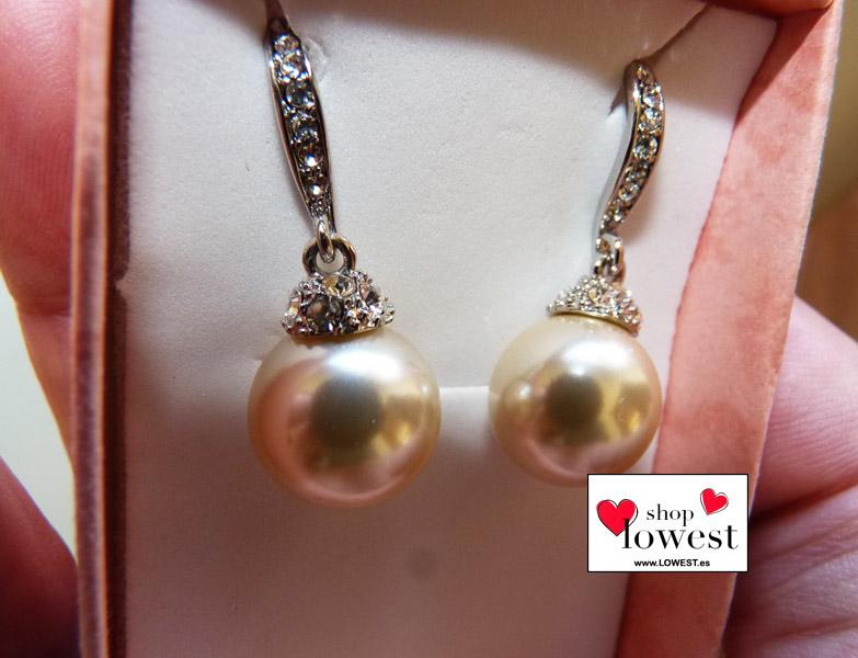 aretes perlas grandes
