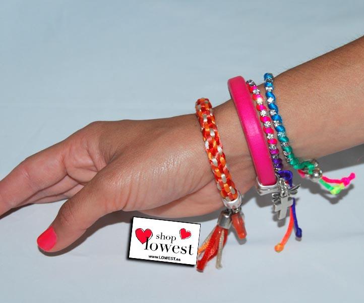 Las pulseras de moda verano descubre la pulseras que m s for Como hacer pulseras de goma eva