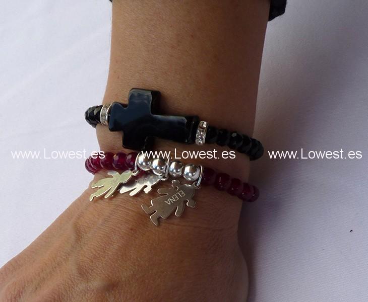 fotos pulseras cruces
