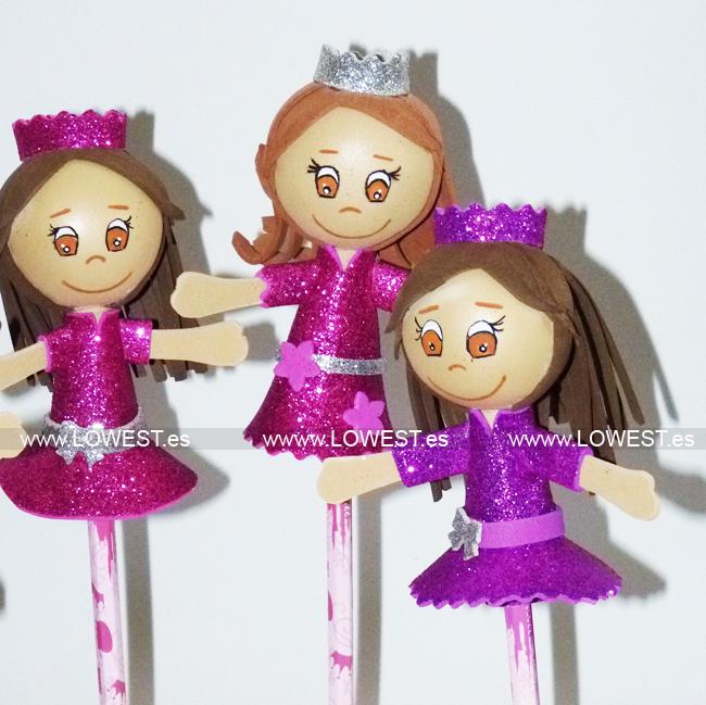 fofulapiz princesa rosa