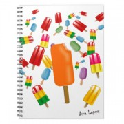 big popsicle chaos by ana lopez libreta espiral retrocharms 1