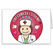detalles para una enfermera cuidame tarjeta de felicitacion retrocharms 1