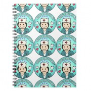 gift ideas for nurses nurse care for me libro de apuntes retrocharms 1