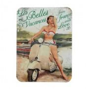 iman para nevera anuncio de motos vintage iman de vinilo retrocharms 1