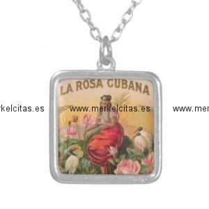 la rosa cubana diseno vintage cuba colgante cuadrado retrocharms 1