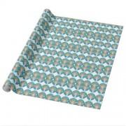medallita merkelcita cuidame plis azul papel de regalo retrocharms 1