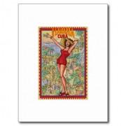 mujer havana vintage cubano la habana postal retrocharms 1