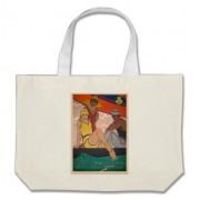 regalo cartel cadiz vintage turismo bolsa tela grande retrocharms 1