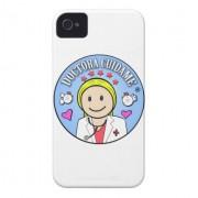 regalos para doctora rubia y celeste cuidame iphone 4 case mate cobertura retrocharms 1