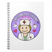 regalos para enfermera cuidame rubia y lila libro de apuntes retrocharms 1