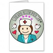 special gift for nurses tarjeta de felicitacion retrocharms 1