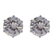 Pendientes SNO of Sweden LADY silvercoloured/clear