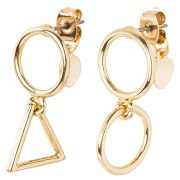 Pendientes Cheap Monday shiny goldcoloured