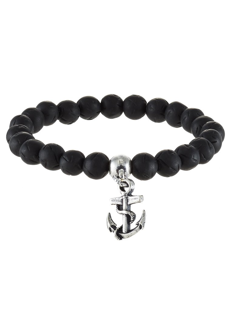 Pulsera Double U Frenk OPPOSITE  Pulsera black/silvercoloured