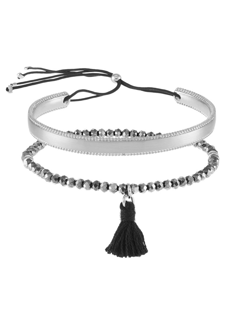 Pulsera Pilgrim 2 PACK Pulsera silvercoloured/grey