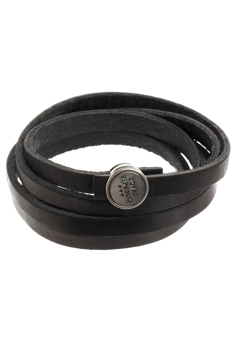 Pulsera Royal RepubliQ SPIRAL Pulsera black