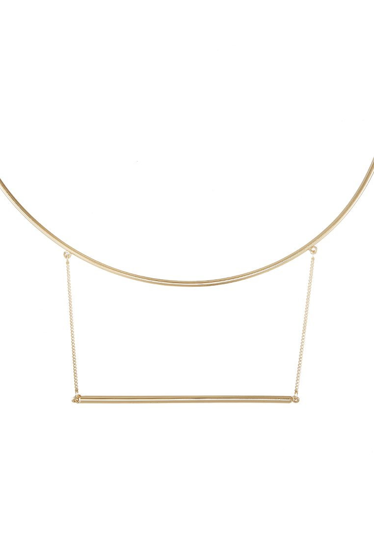 Collares Topshop Collar goldcoloured
