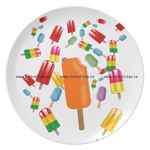big popsicle chaos by ana lopez plato de comida retrocharms
