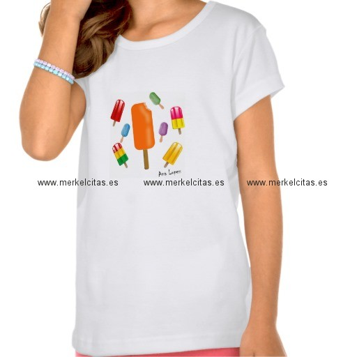 camiseta popsicle chaos por ana lopez retrocharms