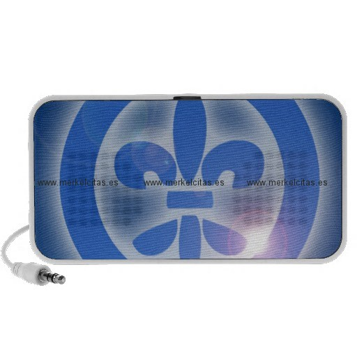 flor de lis lis flower shine healing effects altavoces de viaje retrocharms
