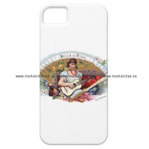 la bella de cuba vintage cubano iphone 5 case mate carcasas retrocharms