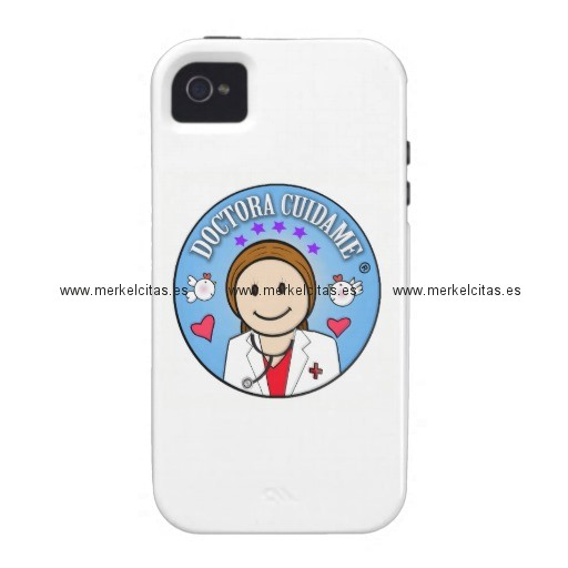 regalos para doctora castana y celeste cuidame iphone 4 carcasas retrocharms