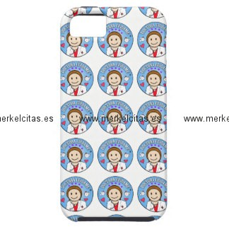 regalos para doctora castana y celeste cuidame iphone 5 carcasas retrocharms