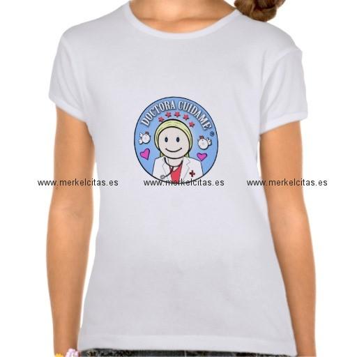regalos para doctora rubia y celeste cuidame camisas retrocharms