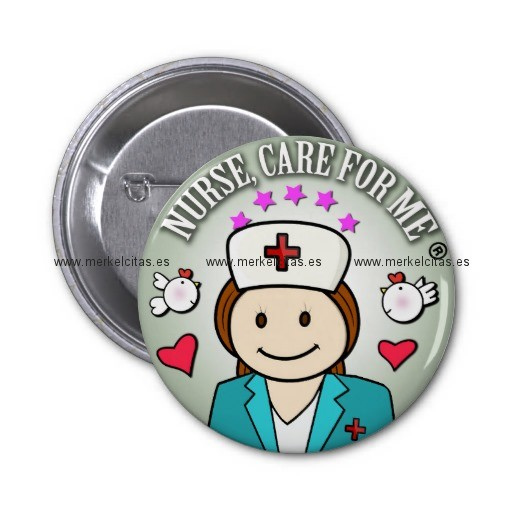 special gift for nurses chapa redonda 5 cm retrocharms