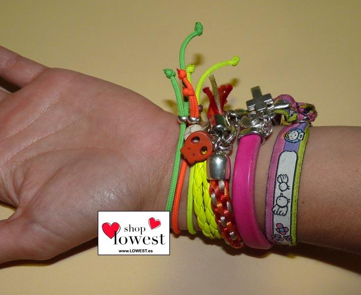 pulseras colores moda lowest 0026