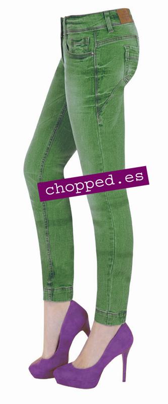 vaqueros jeans pitillo colores 001001