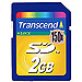Memoria TransSecure Digital 2GB 1