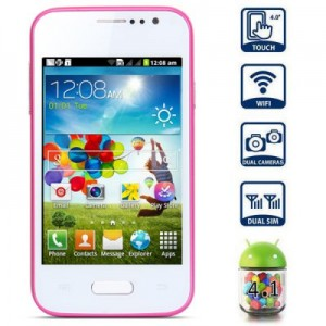 I8550 4 inchSmart Phone Android 4.1 SMDK4x12 1GHz HVGA Screen Dual SIM Quad Band WiFi