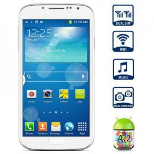 I9502 5.0 inch Phablet Android 4.2 MTK6572 Dual Core 1.3GHz WVGA Screen Dual Cameras GPS