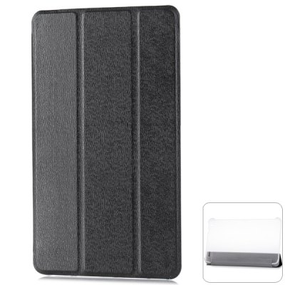 PU Leather and Plastic Protective Case with Triple Folding Stand Function Specially for 8 inch Lenovo Miix2 Tablet PC