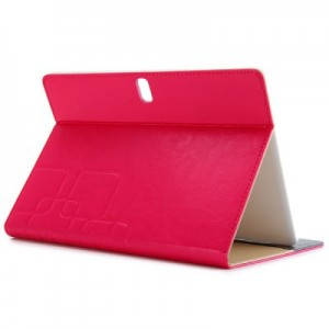 PU Leather Protective Case with Folding Stand Function Specially for 10.5 inch Samsung T800 T805 Tablet PC