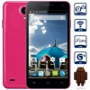 W330 Android 4.4 3G Smartphone with 4.5 inch WVGA Screen MTK6582 1.3GHz Quad Core 4GB ROM WiFi GPS Dual Cameras