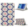 Pretty Pattern Folio Stand Leather Case for Samsung Galaxy Tab 3 Lite T110-T111