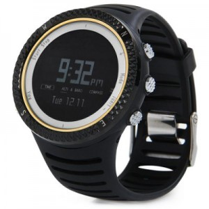 Spovan FX801 Sunrise and Sunset Times Altimeter Barometer Compass Function Outdoors Sports LED Watch Water Resistance