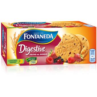 Galleta Digestive Frutos Rojos
