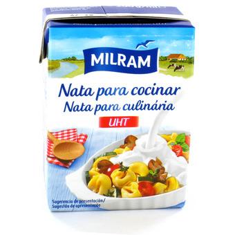 Nata para cocinar uht guia de compras for Nata para cocinar mercadona