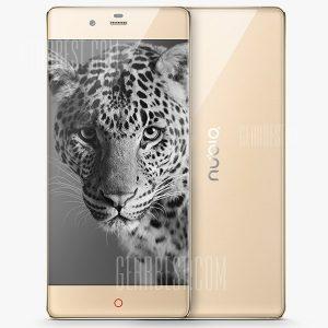 ZTE Nubia Z9 Qualcomm Snapdragon 810 64bit RAM 3GB 32GB ROM Android 5.0 Lollipop de 5,2 pulgadas 4G Smartphone
