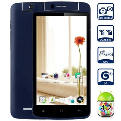 LKD F1 Mini Android 4.2 3G Phablet with 5.0 inch QHD Screen MTK6582 1.3GHz Quad Core 1GB RAM 4GB ROM GPS Dual Cameras