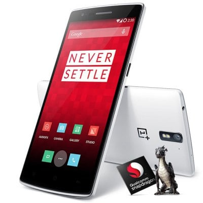 ONEPLUS ONE Color OS 4G Phablet with 5.5 inch Gorilla Glass FHD IPS Screen Snapdragon S801 2.5GHz Quad Core 16GB ROM GPS Dual Camera