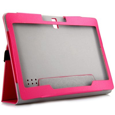 PU Leather Protective Case with Folding Stand Function Specially for 10.0 inch Tablet PC