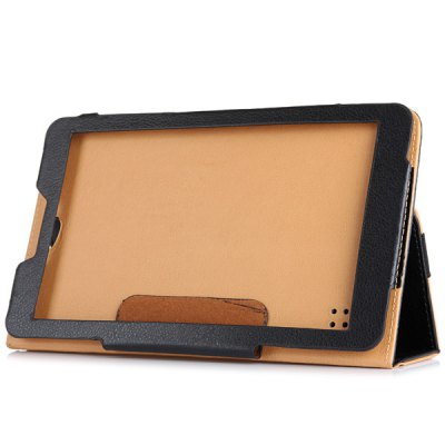 PU Leather Protective Case with Folding Stand Function Specially for 9.0 inch Phablet