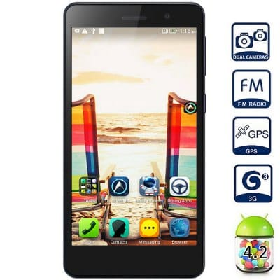 Lenovo S860 5.3 inch Android 4.2 3G Phablet MTK6582 Quad Core